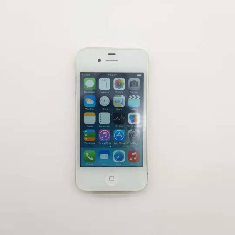 Used Unlocked Iphone 4GB 8GB 16GB 32GB ROM Dual Core 3.5 inch GSM WCDMA 3G WIFI GPS 5MP Camera Used Mobile Phone white
