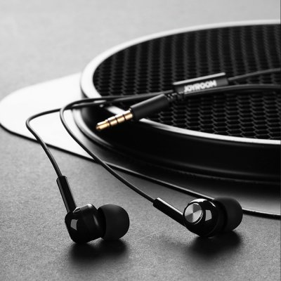 JOYROOM E102S Earphone - Black