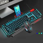 Gaming Keyboard Mouse Suit 0.9 Black