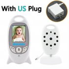 VB601 Wireless Video Color Baby Monitor Night Vision Baby Security Camera Temperature Baby Caregiver US plug