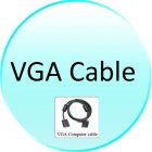 VGA Cable for CVSCA 7000 Multimedia LCD Projector   Wholesale Big Screen Wonder