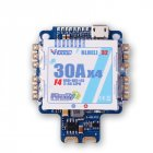 VGOOD  F4S 30A BLHELI_32 4in1 ESC 5V BEC w/ F4 Flight Controller AIO OSD Current Sensor for RC Drone ACP005