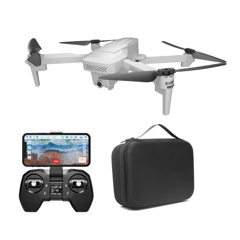 VISUO XS818 ZEN Mini GPS 5G WIFI FPV With 4K HD Electronic Anti-shake Camera Optical Flow Positioning RC Drone Quadcopter RTF white_Storage bag