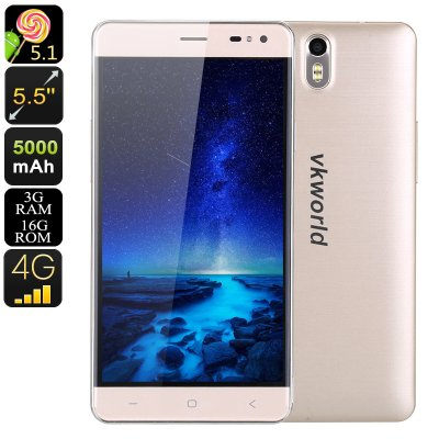 Android Phone VK World G1(Gold)