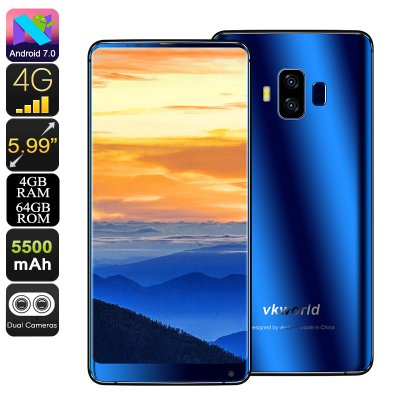 VKWorld S8 Android Phone (Blue)