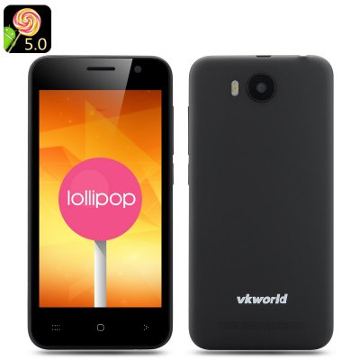 VKWorld VK2015 Android 5.0 Smartphone (Black)