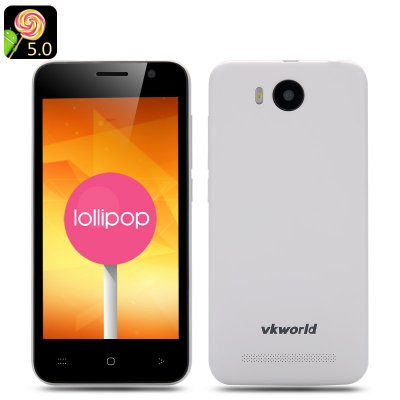 VKWorld VK2015 Android 5.0 Phone (White)