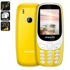 VKWorld Z3310 Cell Phone (Yellow)