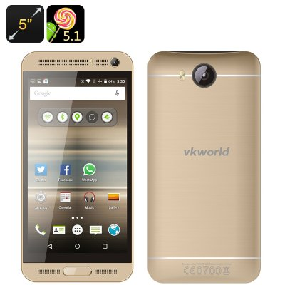 VKworld VK800X Android Smartphone (Gold)