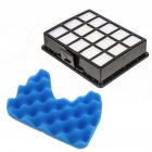 Vacuum Cleaner Filter Spare Parts Set Sponge and Filter for SAMSUNG DJ97-01159B FOAM FILTER   a filter+a sponge