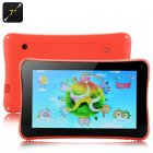 Venstar K7 Children   s Tablet has a 7 Inch Display  Android 4 2 operating system and a RK3026 Cortex A9 Dual Core Processor