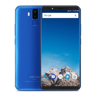 Vernee X 5.5 Inch 6+128GB Smartphone  Blue