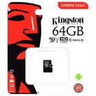 Kingston C10 Micro SDHC UHS 64GB Memory Card