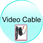 Video Cable for CVSH CS25 Car Rear View Camera with Wide Angle Lens