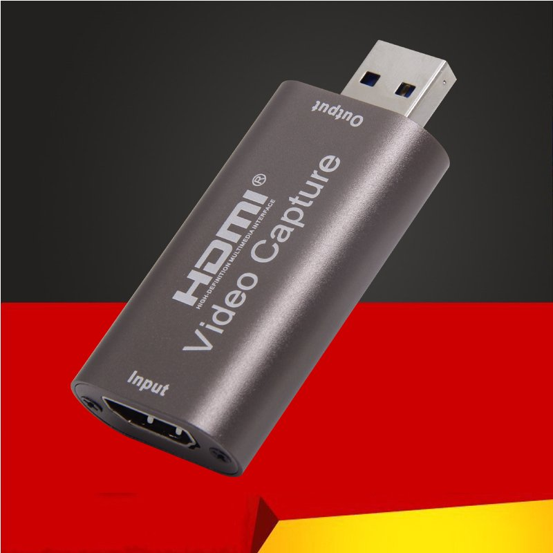Video Converter Metal USB3.0 Video 1080P 60HZ HDMI Capture Card Brown