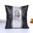 Vintage Black White Floral Cushion Cover Throw Patchwork Pillow Case Car Sofa Decor Pillowcase Home Decorative Pillow Cover