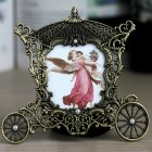 Vintage Metal Carriage Photo Frame - 3