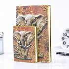 Vintage Style Embossment Thick Paper Notebook Notepad School Office Stationery Supplies
