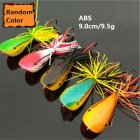 Vivid Color Frog Bait Simulation Thunder Frog Fishing Bait  random