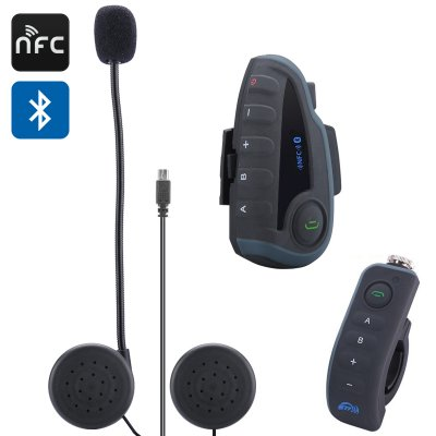 Vnetphone V8 Bluetooth Intercom Headset