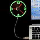 Vodcart USB LED Fan Clock