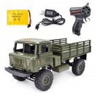 WPL B-24 1/16 RTR KIT 4WD RC Truck 2.4GHZ green_Vehicle RTR