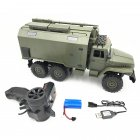 WPL B36 Ural 1/16 2.4G 6WD Rc Car Military Truck Rock Crawler Command Communication Vehicle RTR Toy RTR type_1:16