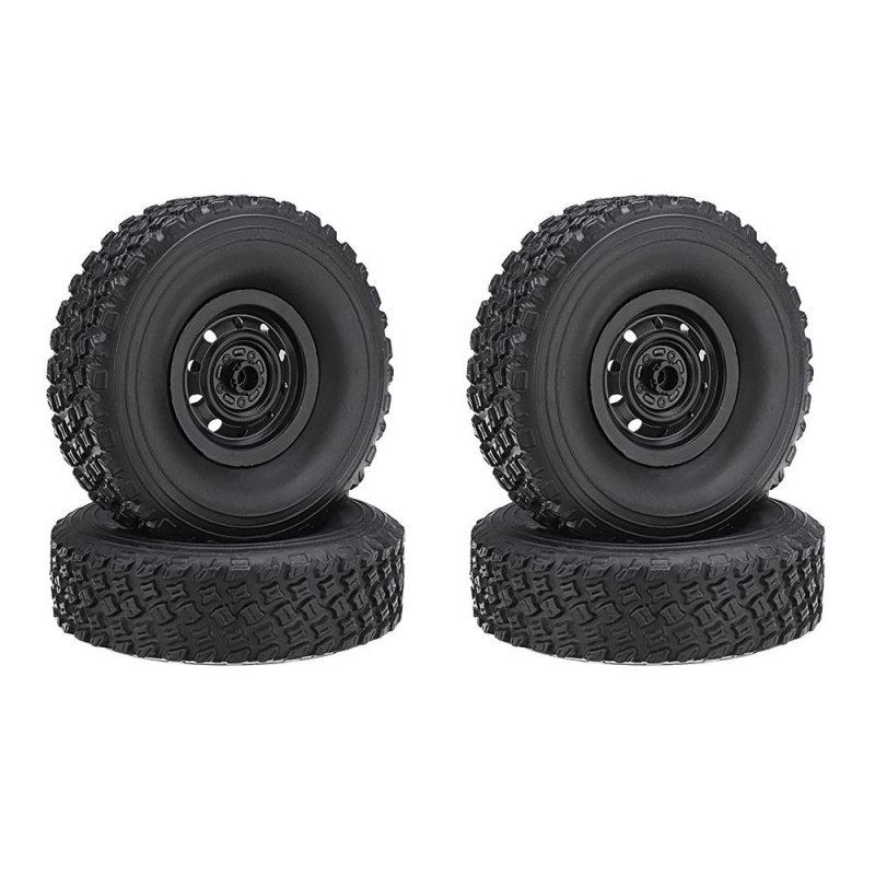 WPL C34 RC Car Wheel 1/16 4WD WPL JJRC MN Buggy Crawler Off Road 2CH RC Vehicle Models Parts 4pcs