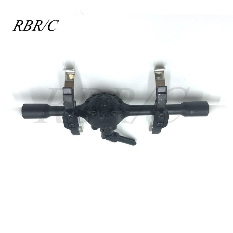 WPL D12 Metal OP Accessaries Diy Upgrade Rc Off Road Car Model Spare Rear axle_1:16