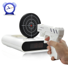 Wake up in style and start the day with a BANG with the Gun Alarm Clock  Nothing gets rid of that early morning crankiness quite like    The best Alarm Clock