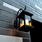 Wall mounted solar decorative lights