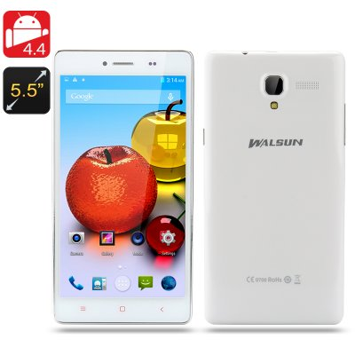Walsun Fire Android 4.4 Phone (White)