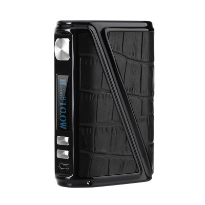 Warlock Z Box 230 Box Mod (Black Leather)
