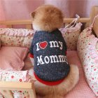 Warm Dog Clothes Sweatshirt Outfit Coat