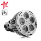 Warm white LED Light Bulb for use in all incandescent screw in base   fixtures