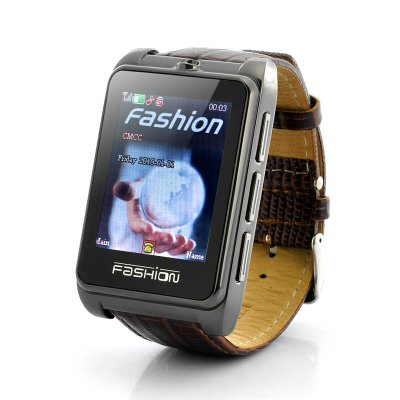 Leather Mobile Phone Watch - Smooth Operator