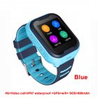 Waterproof 4G Kids Smart Watch Support Bluetooth Connect blue