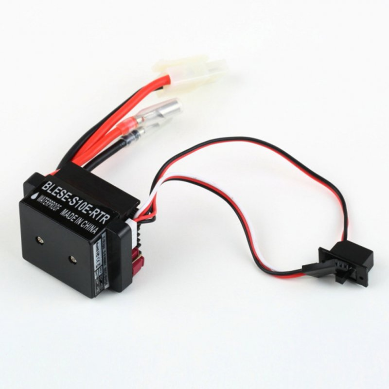 Waterproof 6-12 V Brushed Motor Speed ​​Controller 320A Esc Brushed Motor Speed ​​Controller ESC RC Car Boat black