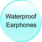 Waterproof Earphones for CVSEU A5500 Waterproof MP3 Player