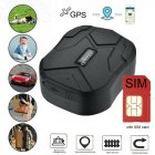 Waterproof Gps GSM Tracker Gprs Vehicle Real Time Position Anti-theft Alarm Car Tracker With Battery black