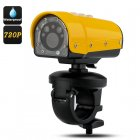 Waterproof HD Sports Camera has 1280x720 Resolution  120 Degree Wide Angle Lens  SOS Light and Positioning Laser Light
