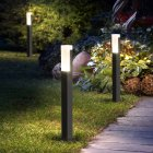 Waterproof LED Lawn Lamp for Outdoor Garden Courtyard Villa Landscape Decoration warm light H400mm