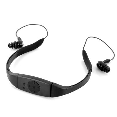8GB Waterproof MP3 Player w/ In-Ear Earbuds