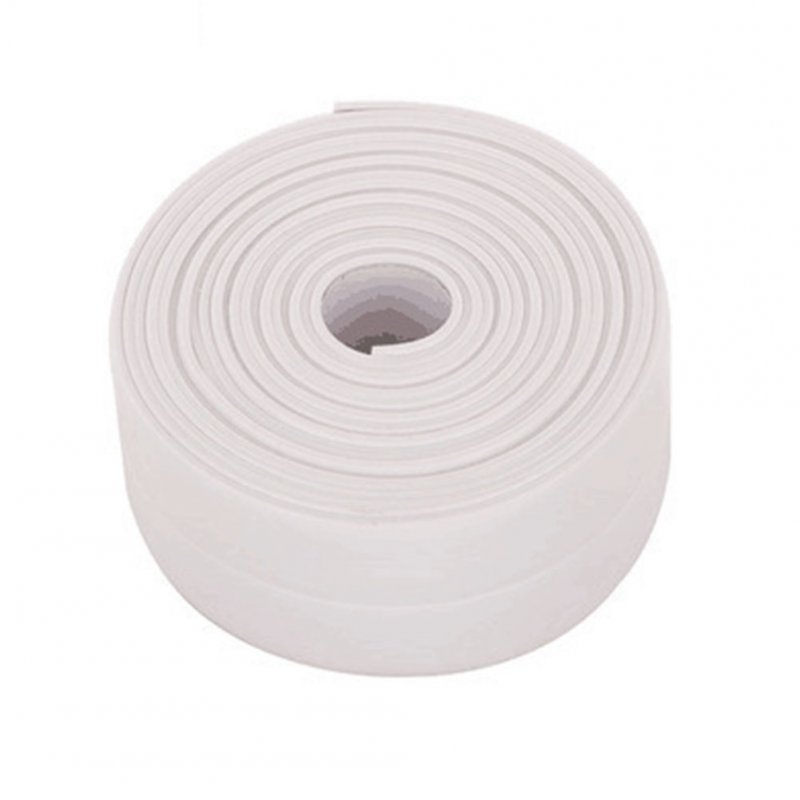 Waterproof  Moisture-proof Sealing Tape for Toilet Wall Kitchen Sink White 3.2 m * 3.8 cm
