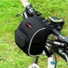 Waterproof Mountain Bike Riding Bag Folding Bicycle Handlebar Bag Black