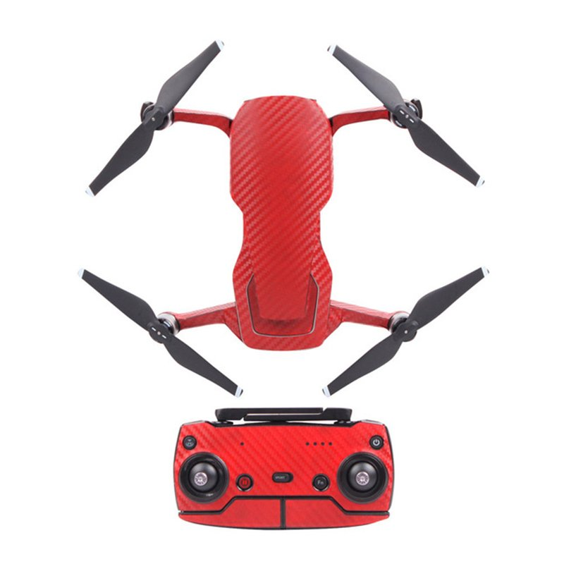 Red Sunnylife Decals for DJI Mavic