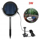 Waterproof Solar Standing Water Fountain