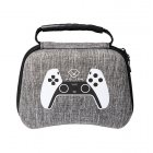 Waterproof Storage Bag Carrying Case for PS5 Gamepad Housing Shell Shockproof Protective Cover gray