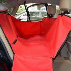 Red Car Soiling Resistant Cushion Seat Cover