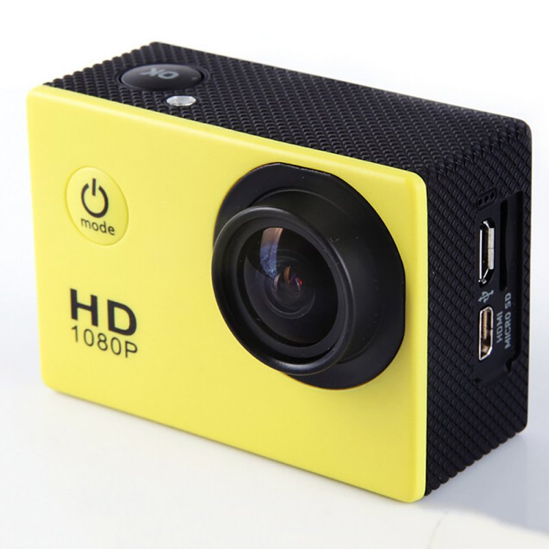 F23 Outdoor Action Camera - Yellow